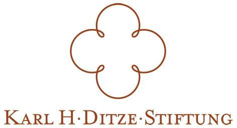 Logo Karl H. Ditze Stiftung