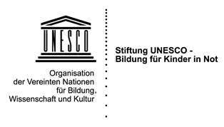 """Logo Stiftung """"UNESCO – Bildung für Kinder in Not"""""""